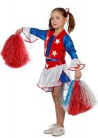 Cheerleader Sternchen Kinderkostüm