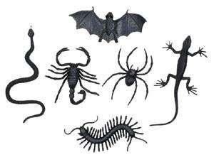 Night Of Horror Animal Deco Set 6 piezas