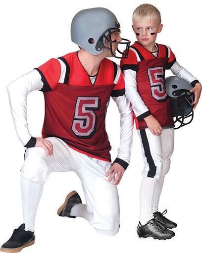 Footballspieler Kostüm Für Kinder