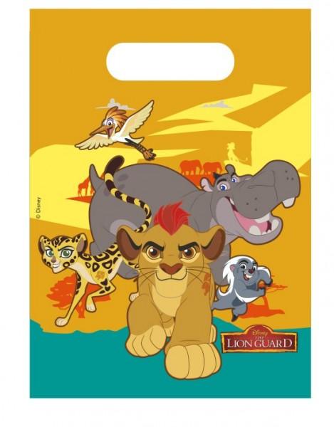 6 Die Garde Der Löwen Safari Life Geschenktüten