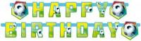 Fußball Partytime Birthday-Girlande 180x15cm