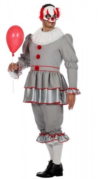 Moorddadig horror clown herenkostuum
