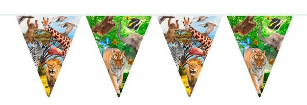Wimplekette Wild Safari 6m