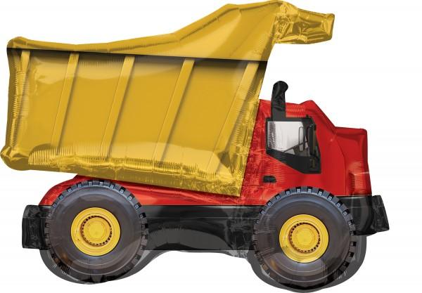 Camion benne ballon aluminium 81 x 63 cm