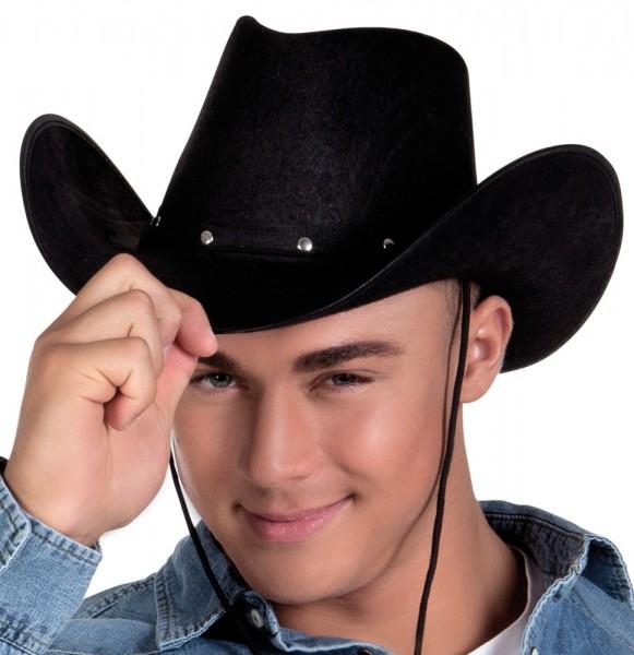 Cowboy Hut Jack Schwarz