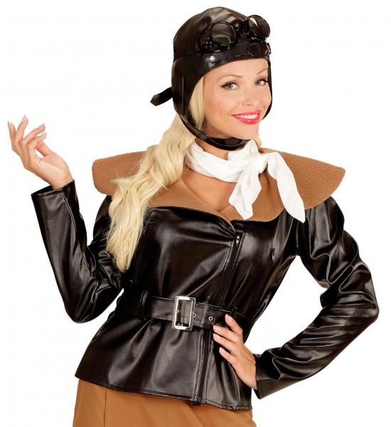 Retro Pilot Damenkostüm
