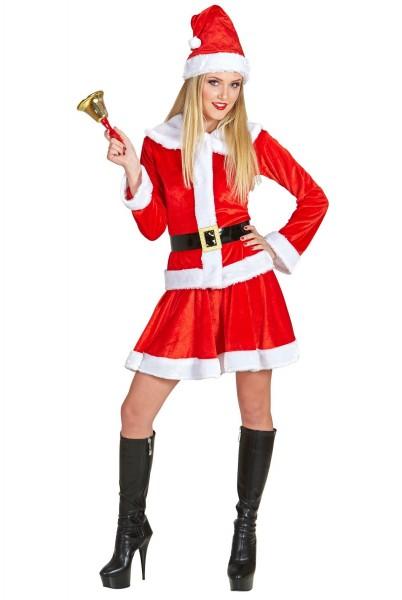 Sexy Weihnachtsfrauen Gewand