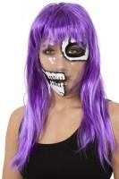 Transparente Tina Totenkopf Maske