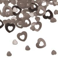 15g Streudeko Herzchen silber