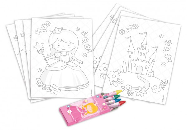 Princess Isabella painting set 20 pieces