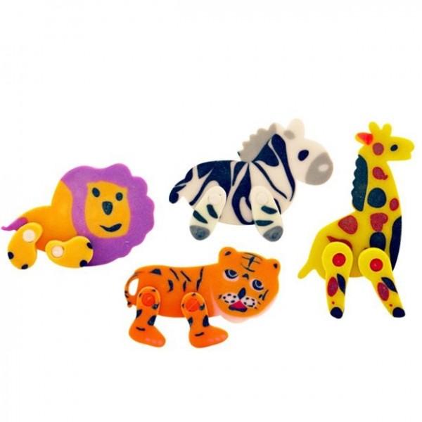 1 Jungle Animals Radiergummi 5cm