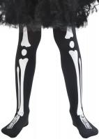 Knochenmädchen Strumphose Luana