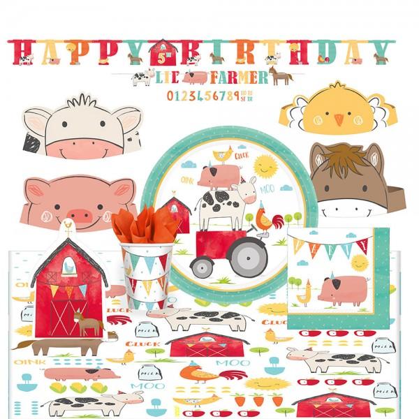 Happy Farm Life Partyset 51-teilig