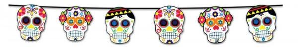 Garland Colorful Skulls 210cm