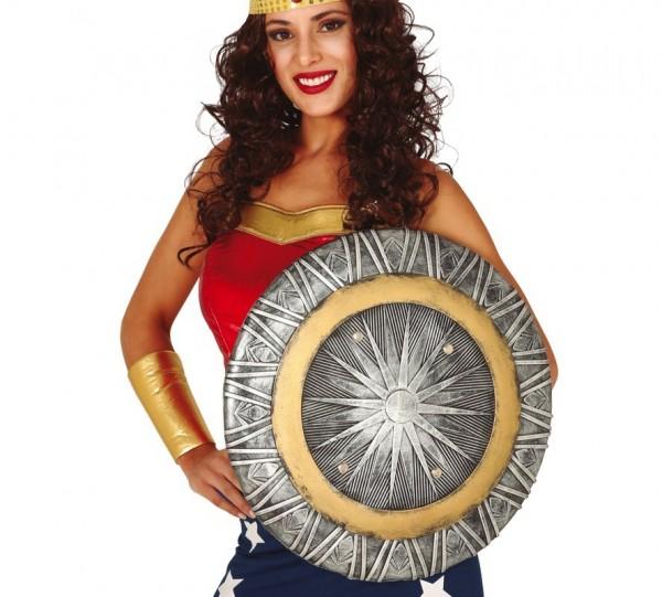 Superheldin Schild 47 cm
