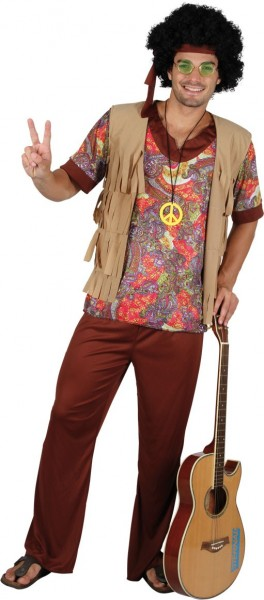 Tenue hippie marron Noah