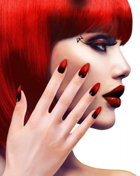 Tina Devil Fingernails Set of 12