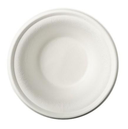 50 sugar cane bowls Tosca white 15.5cm
