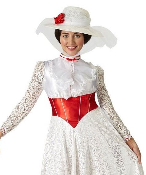 Costume de luxe de Mary Poppins