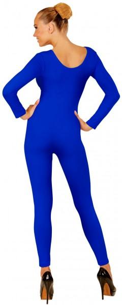 Body à manches longues pour femme bleu