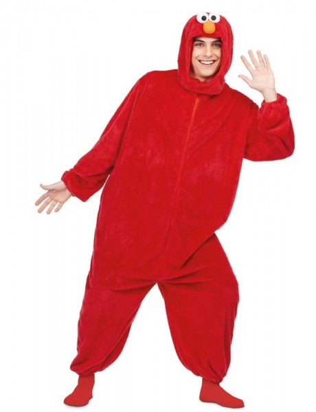 Elmo Plüschkostüm für Erwachsene