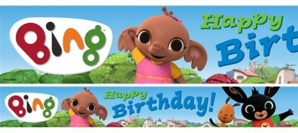 3 Bing Birthday Banner