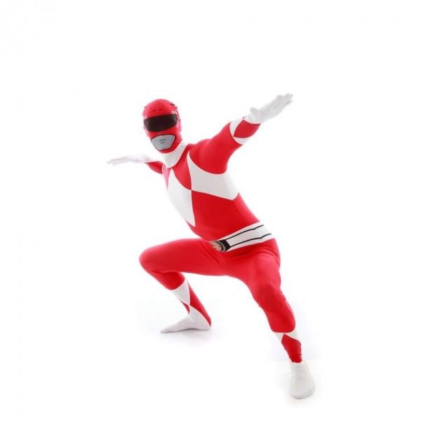 Ultimate Power Rangers Morphsuit rot