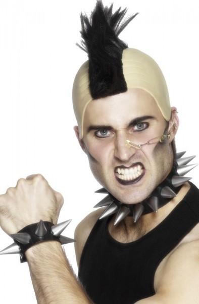 Punk Puntige Studs Hals- & Armband In Set