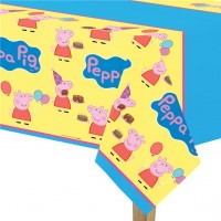 Peppa Pig Kunststoff Tischdecke 2,6m