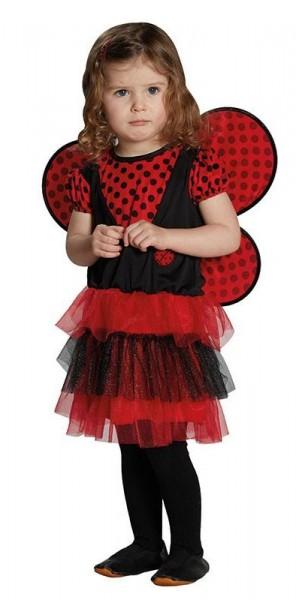 Süßes Marienkäferkostüm Für Kinder Rot