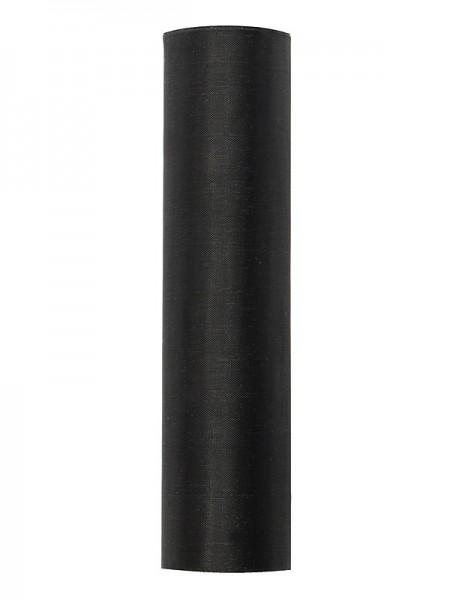 Organza Stoff Julie schwarz 9m x 16cm