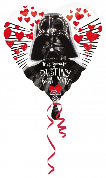 Darth Vader Herzballon My destiny 43cm