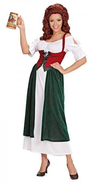 Hübsches Mittelalter Kleid Nancy