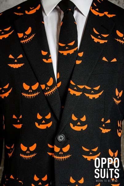 OppoSuits party suit Black-O-Jack-O