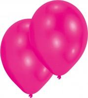 10er-Set Luftballon Pink 27,5cm