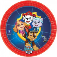 8 Paw Patrol Action Pappteller 18cm