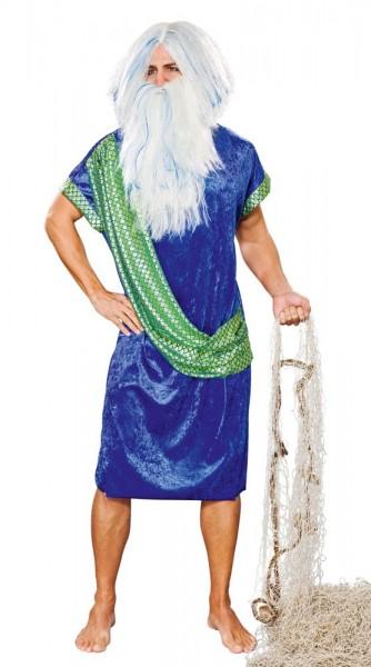 Poseidon God Of The Sea-kostuum