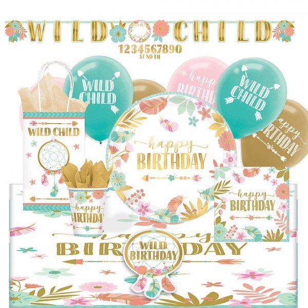 Party Set Boho Summer Girl 56-teilig