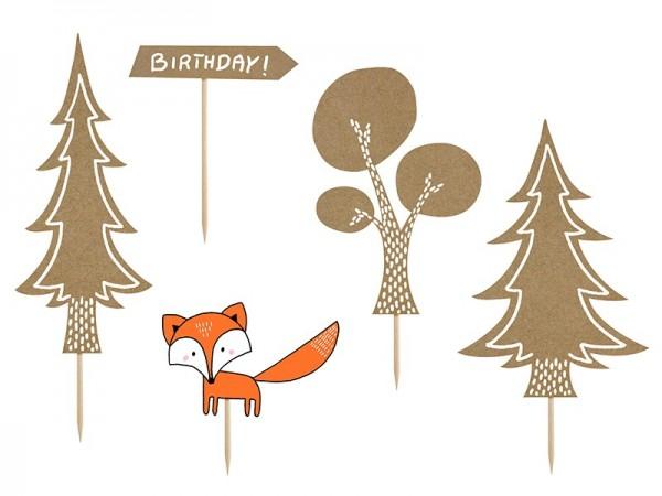Foresta di Tortendeko 5 pezzi