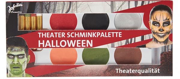 Schminkset Schminkpalette Farben Makeup Halloween