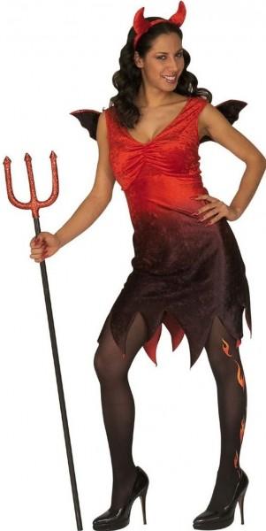 Costume di Halloween Sexy Devil Red Black