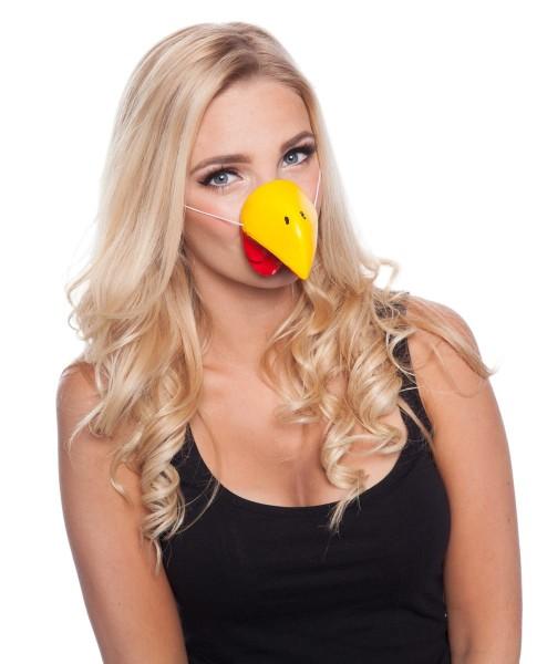 Bec de poulet nez animal