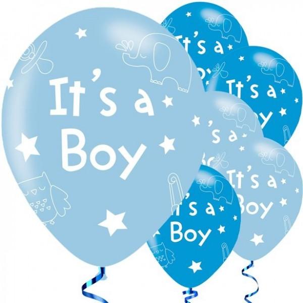 It's a boy 6 latex ballonnen 28cm