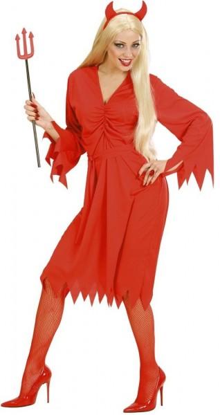 Diavolo Queen Costume Red