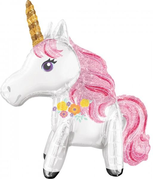 Balon foliowy Glittery Unicorn 55 x 63cm