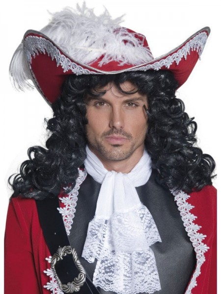Verzierter Captain Jared Piratenhut