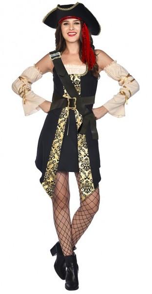 Seksowny kostium pirata dla kobiet
