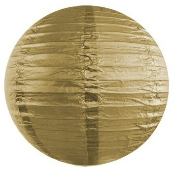 Lampion Lilly gold 25cm