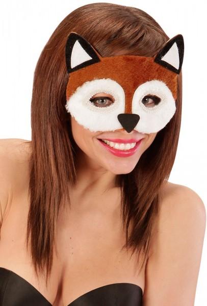 Soft Fox-oogmasker voor volwassenen