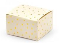 10 Cheerful Birthday Geschenkboxen creme